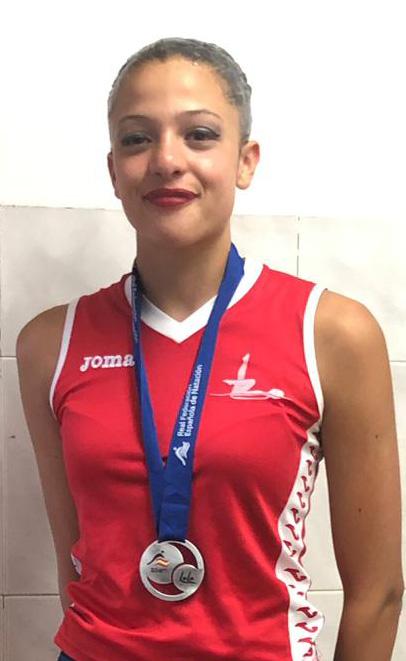 Les medalles de Plora i Clement porten al Atlantis Sincro Burjassot a aconseguir el trofeu al millor club en el Campionat d'Espanya Infantil