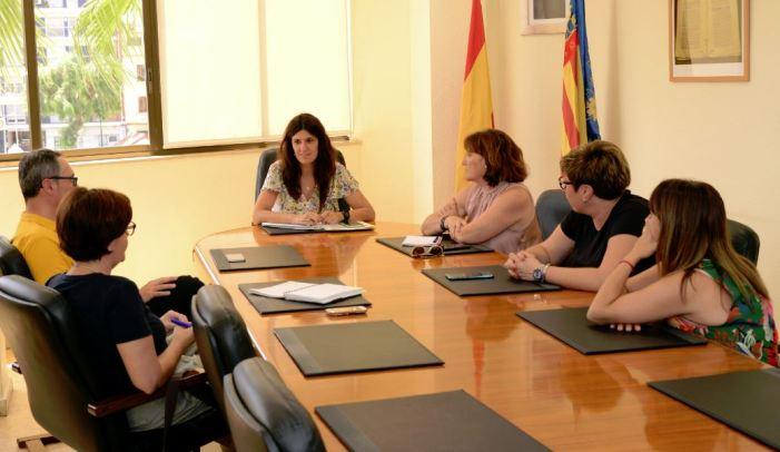 Primera presa de contacte amb l'Associació Local de Comerç a Paiporta