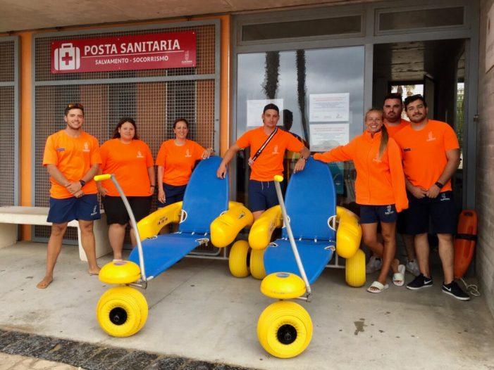 L'equip de salvament i socorrisme sempre a punt a les platges d'Alboraia