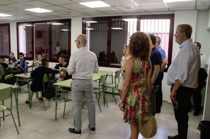 Alaquàs inverteix  4´3 milions d'euros als centres educatius públics durant l'estiu
