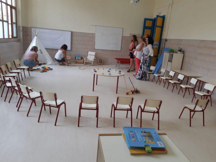 Albal ha realitzat obres de millora en els centres educatius.