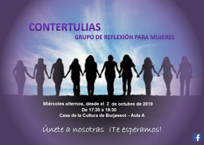"""Torna """"Contertulianes"""", un espai de reflexió per a dones impulsat des de Espai Dóna de Burjassot"""