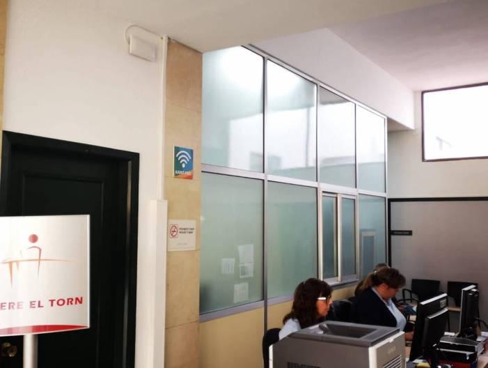 Alfafar instal·la un nou punt wifi públic i gratuït en Benestar Social