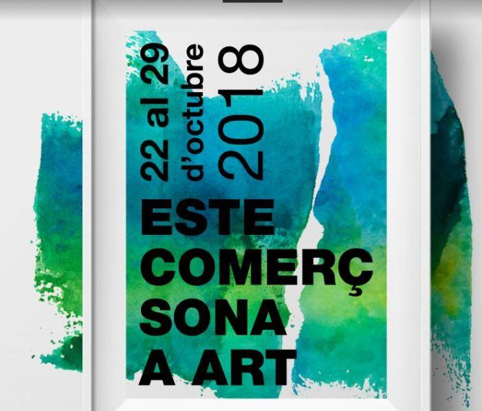 Últim dia per a inscriure's en la quarta edició d'Este Comerç Sona a Art