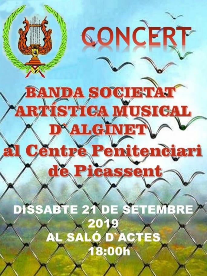 Concert de la SAMA a la presó de Picassent