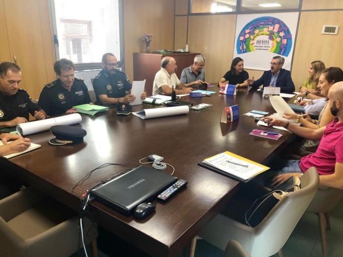 L'Ajuntament d'Algemesí prepara el pla de seguretat per a les festes del mes de setembre