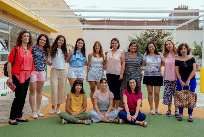 La regidora d'Educació, Maite Ibáñez, ha visitat l'Escola Infantil Municipal Quatre Carreres en el primer dia del curs 2019-2020.