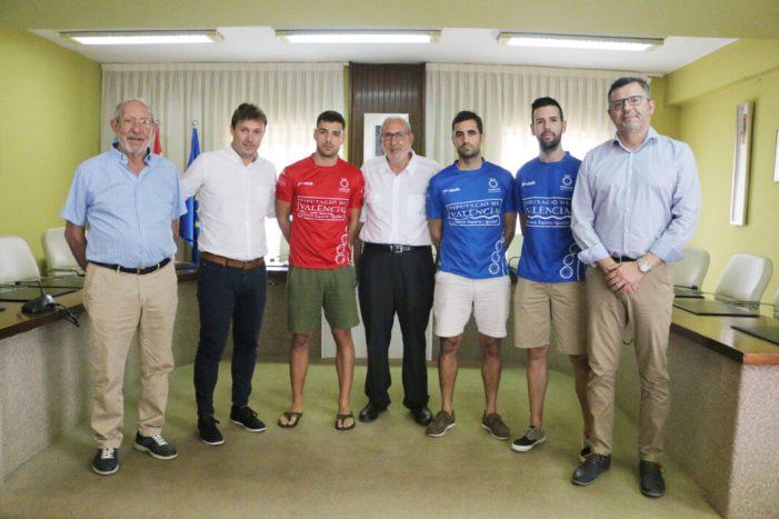 La partida definitiva del Trofeu Diputació de València de frontó s'ha presentat este dijous a l'Ajuntament d'Almussafes