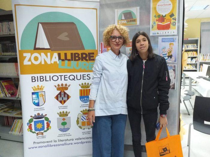 L'estudiant almussafenya Edurne López, finalista del IV Concurs de Booktràilers de 'Zona Llibre Zona Lliure'