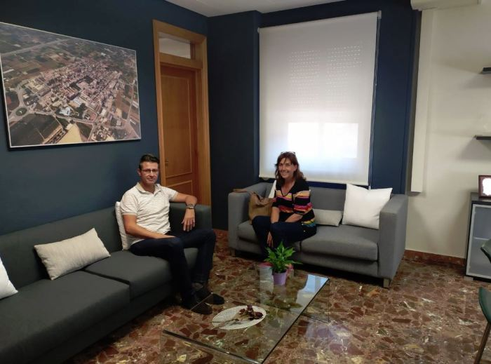 L'alcalde d'Almussafes reprén la ronda de contactes amb els sindicats amb major pes en les àrees industrials