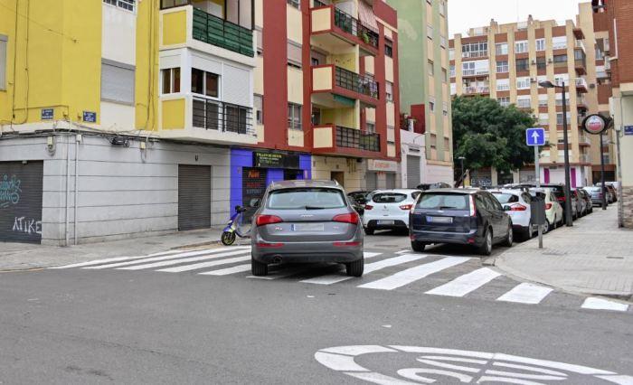 Canvi de sentit carrer Capitular de Gandia