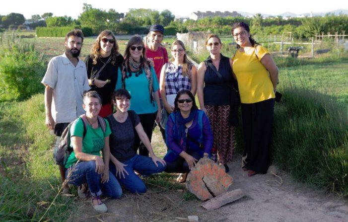 L'Alcaldessa de Godella, Eva Sanchis, es reuneix amb diverses associacions per a tractar el tema de l'alimentació sostenible