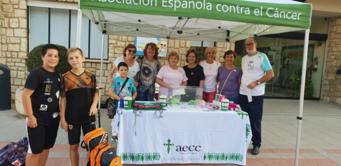 AECC Almussafes recapta 1.257 en les dues taules petitòries instal·lades en el municipi amb motiu de la seua última qüestació