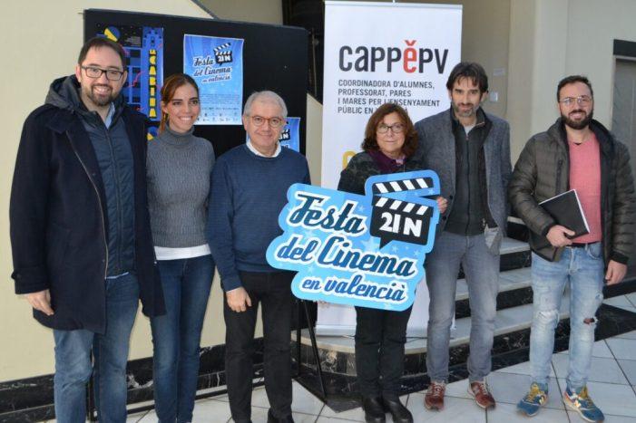 L'IVC acull a la Filmoteca la 'Festa del cinema en valencià' d'Escola Valenciana