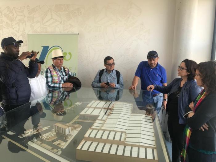 Representants públics de Bolívia i Guatemala s'interessen pel treball de la Diputació en gestió de residus