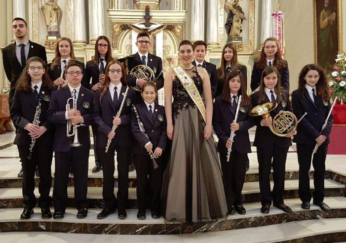 La Societat Artística Musical de Benifaió va celebrar la festivitat en honor a Santa Cecilia