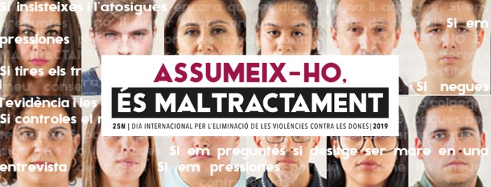 La Regidoria d'Igualtat impulsa una nova campanya per al 25N, Dia internacional per l'eliminació de les violències contra les dones