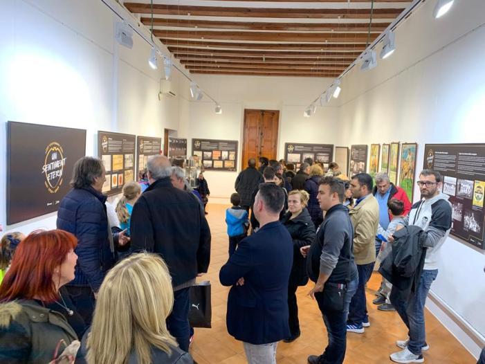 L'exposició del Centenari del Valencia CF, 'Sentiment Etern', fa la seua primera parada en Catarroja