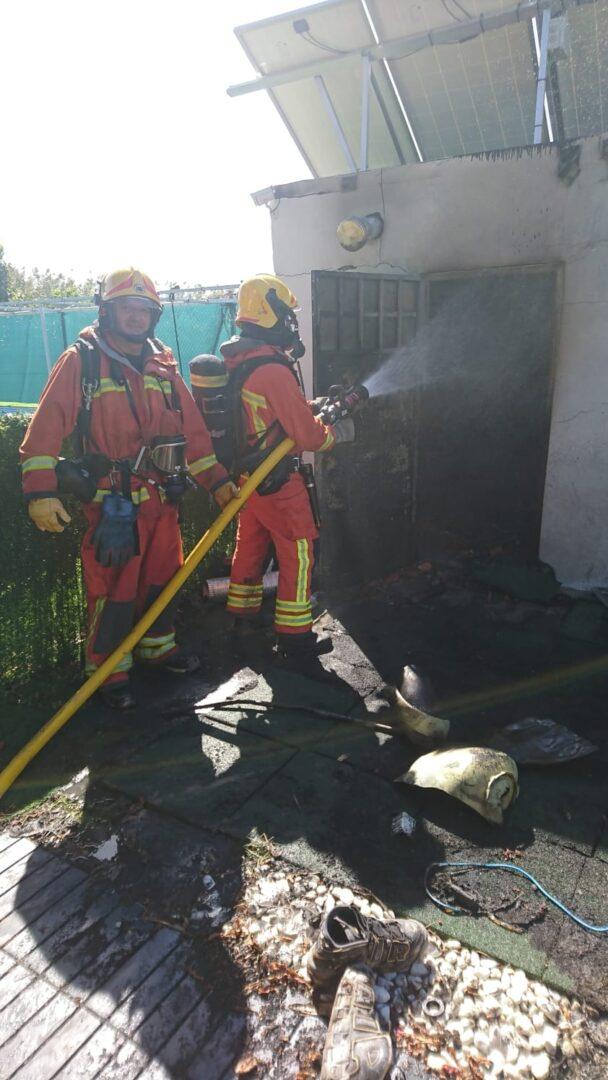 Els bombers alerten de l'augment d'incendis en habitatges quan arriba el fred