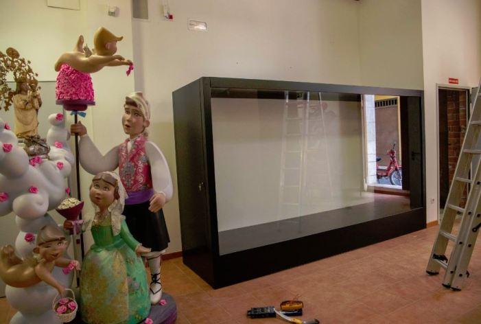 Cullera reforma el Museu Faller per adaptar-lo a les noves tecnologies