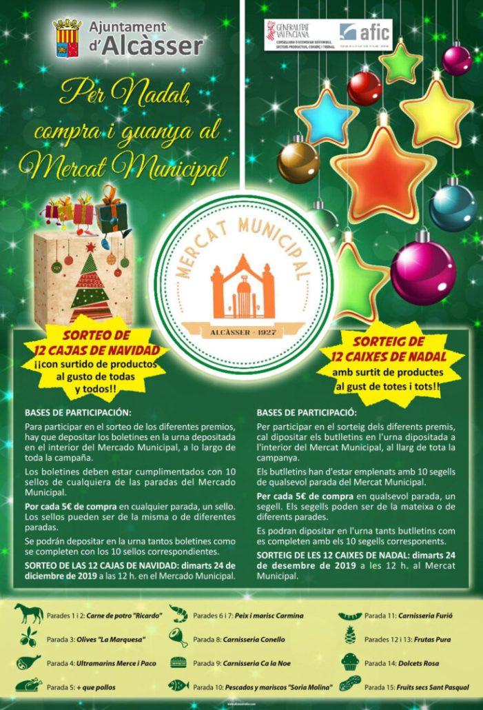 """Campanya """"Per a nadal"""" compra al mercat municipal"""""""