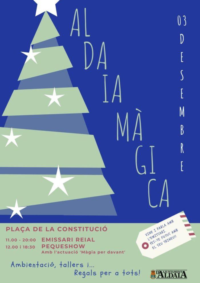 'Aldaia Màgica', per un Nadal al carrer