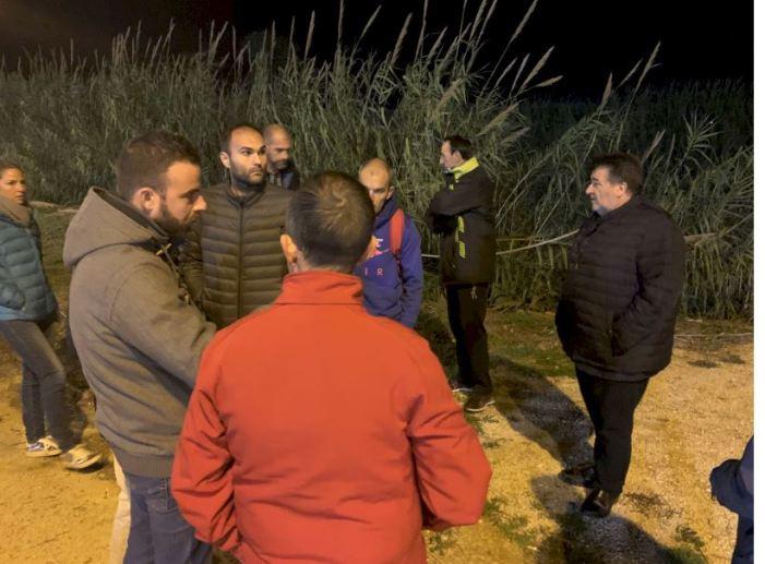 Es consensua amb els clubs d'atletisme d'Alzira el tancament del perímetre del poliesportiu Jorge Martínez 'Aspar'