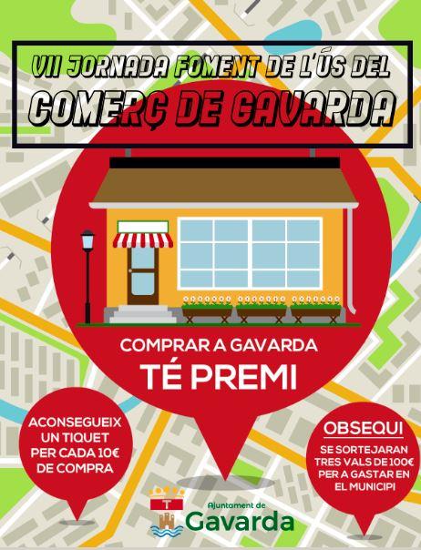 Gavarda incentiva les compres en el comerç local a través d'una campanya de promocions