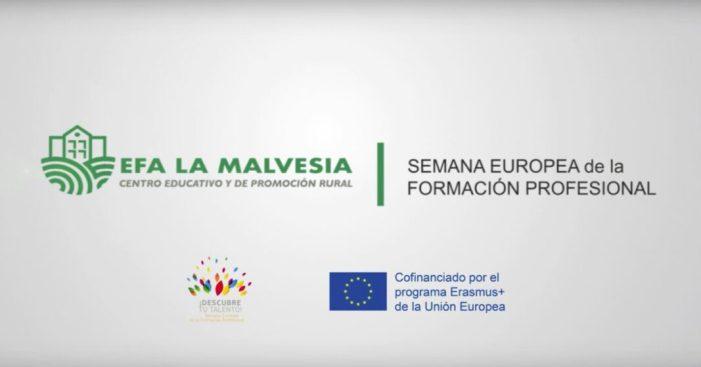 L'EFA La Malvesía acull la Setmana Europea de la Formació Professional