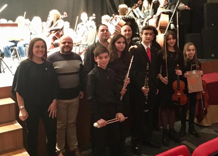 La Societat Musical l'Om de Picassent celebra les Festes de Santa Cecília