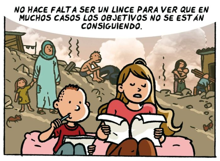La Nau acull la presentació d'un còmic sobre el canvi climàtic amb treballs de grans noms de la il·lustració espanyola