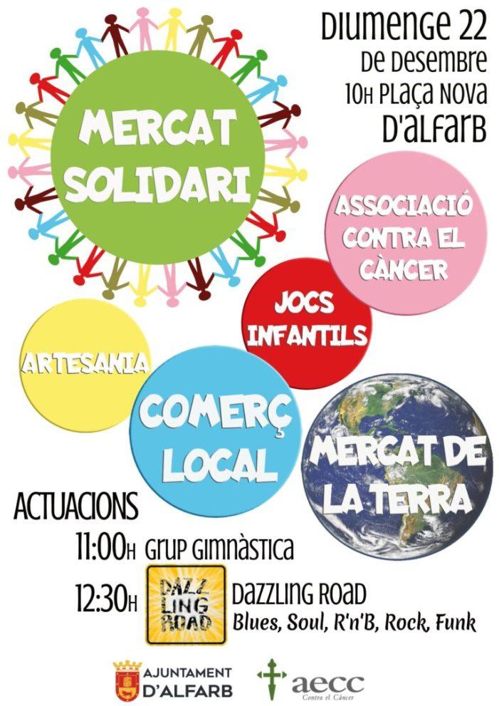 Mercat solidari de Nadal en Alfarb