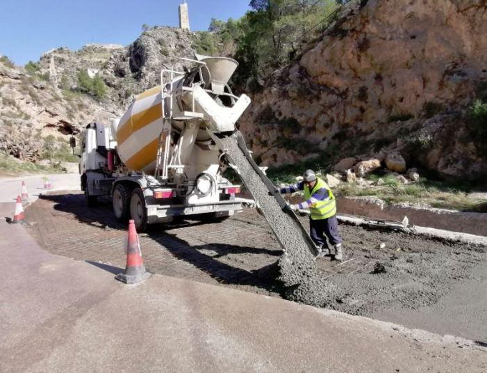 La Diputació accelera les obres per a reparar els danys en les carreteres afectades per la DANA