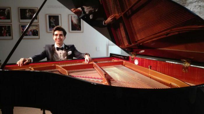 El Cicle de Joves Intèrprets presenta el pianista Francisco Jóse García Verdú