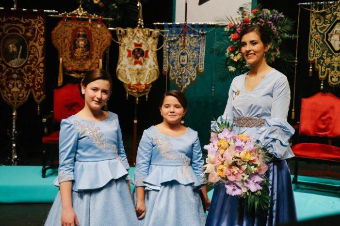 Azucena Guimerá Palop és nomenada com a Reina de la Trobada de la Setmana Santa de Torrent