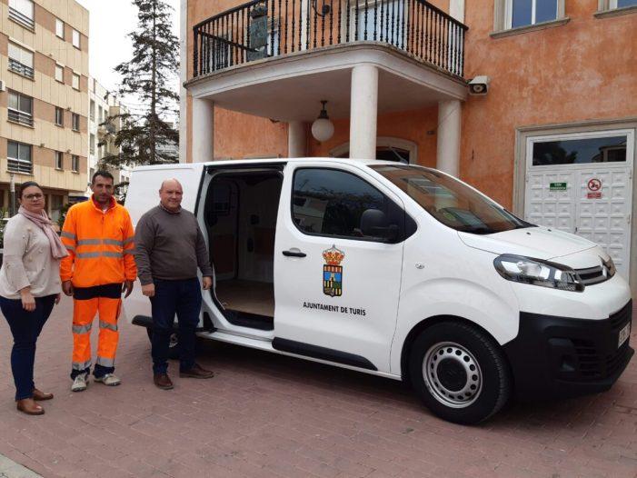 Un nou vehicle per millorar la tasca municipal