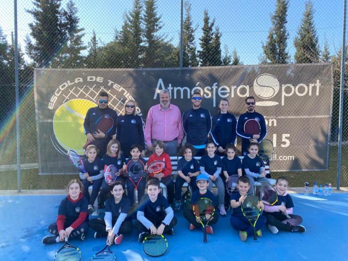 Torneig anual de prebenjamins de l'Escola de tennis d'Alaquàs.