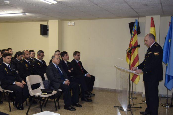 La Casa de Cultura de Burjassot acull la celebració de l'acte de commemoració del 196 Aniversari de la Policia Nacional