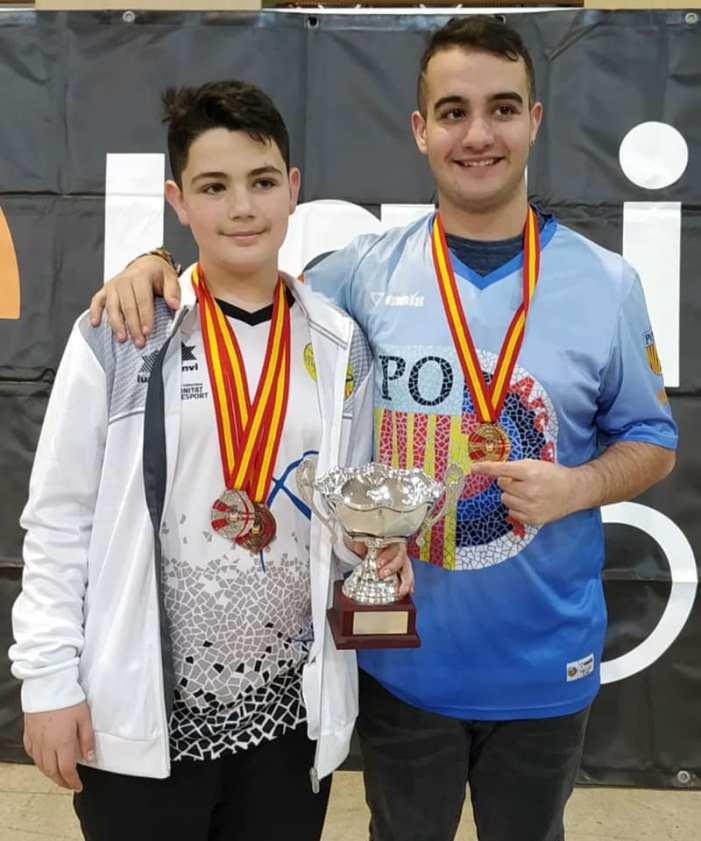 El Club Tir amb Arc de Quart de Poblet conquesta el campionat d'Espanya de precisió