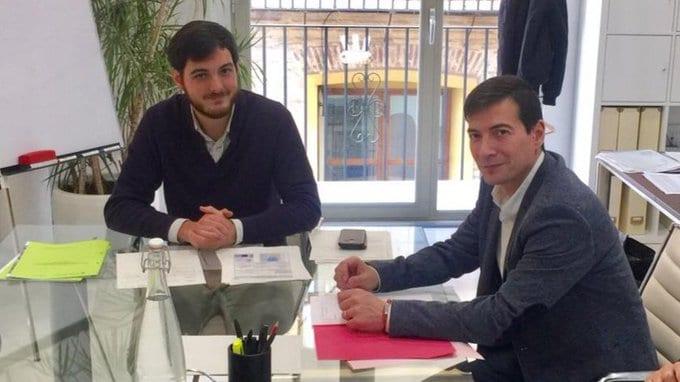 L'Alcalde de Burjassot, Rafa García, es reuneix amb el director general del EVha per a analitzar les necessitats d'habitatge en el municipi