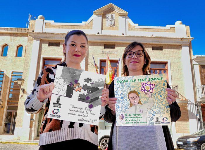 La Regidoria d'Igualtat llança un calendari anual d'imatges a Alboraia