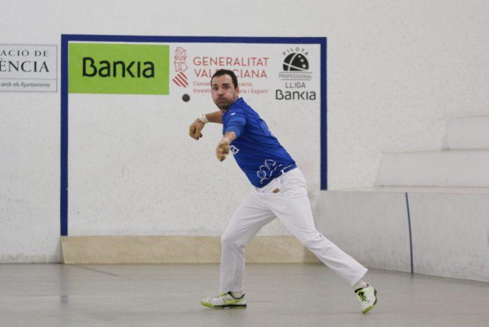 Raúl torna a ser baixa en la Lliga Bankia d'escala i corda