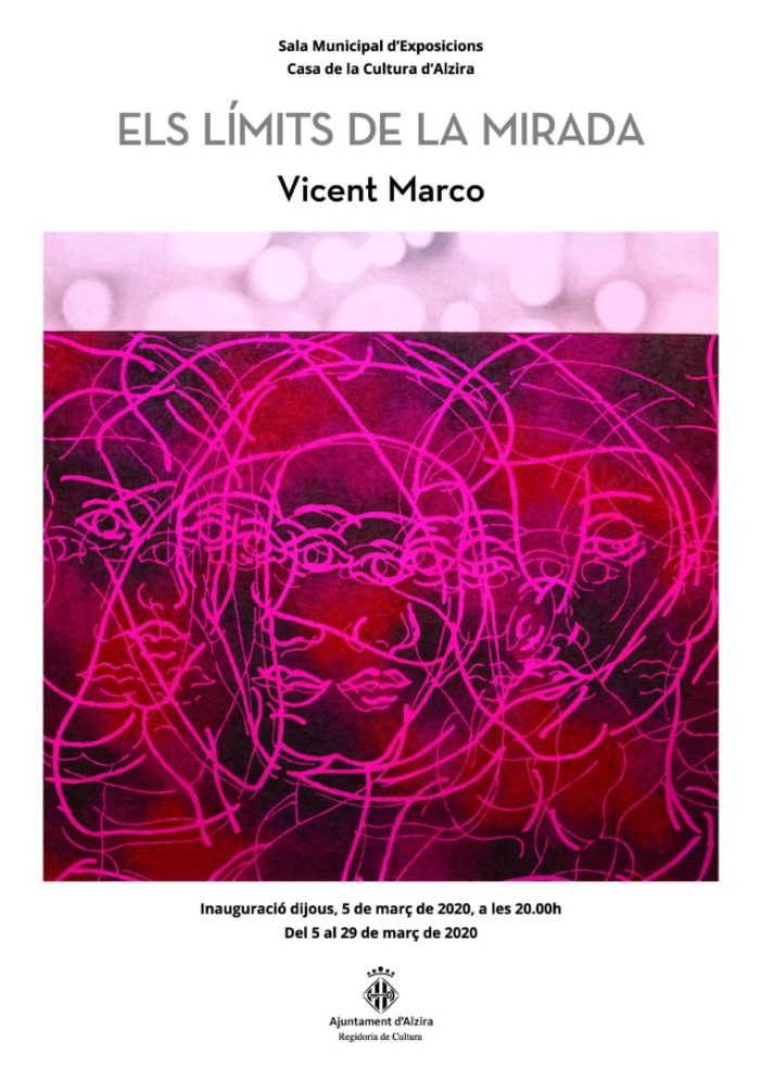 Fins al 29 de març visita l'exposició de Vicent Marco a Alzira