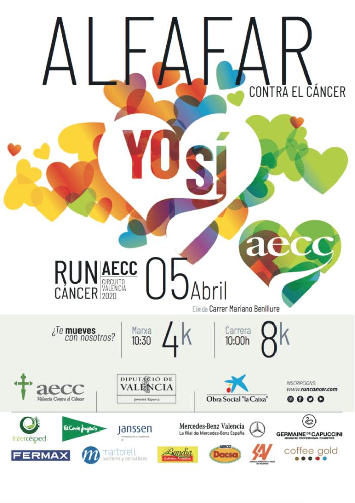 Alfafar celebrarà una nova edició de la RunCáncer el 5 d'abril
