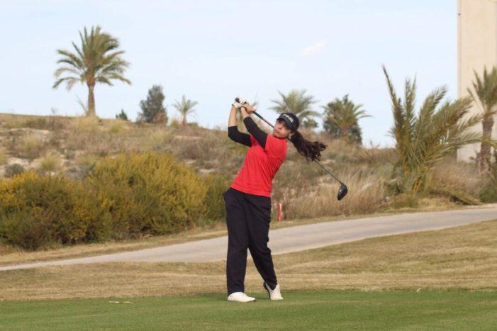 La golfista almussafenya Ana Soria, classificada per primera vegada per al Campionat d'Espanya Sub 18