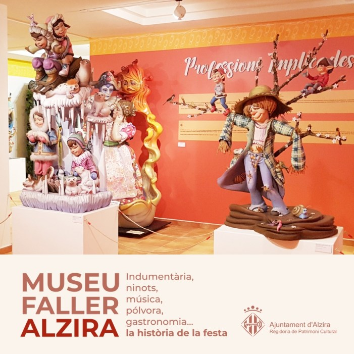 Patrimoni Cultural edita un díptic amb informació del Museu Faller d'Alzira