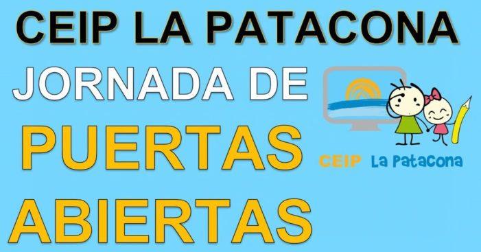 El CEIP La Patacona organitza unes Jornades Virtuals de Portes Obertes per a mostrar el funcionament del centre