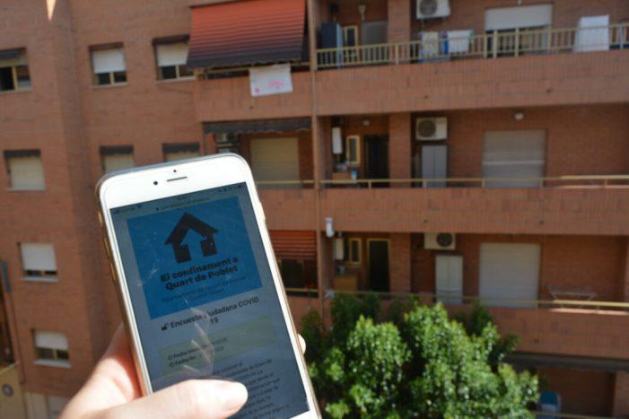 L'Ajuntament de Quart de Poblet llança una enquesta per a conéixer el comportament del municipi durant el confinament