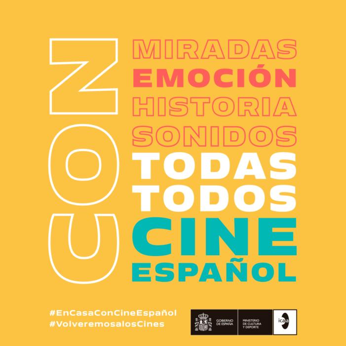 L'ICAA llança la campanya 'AMB TOTES, AMB TOTS, AMB CINEMA ESPAÑOL'