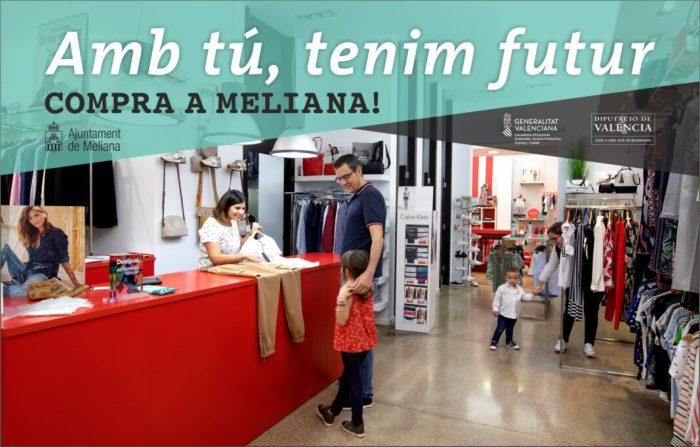 L'Ajuntamentde Meliana posa en marxa una campanya de suport al comerç local